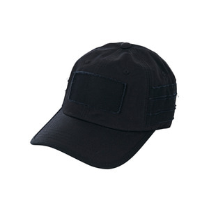 Bio washing ballcap black