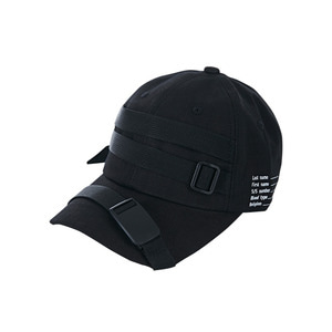 Military type-1 ballcap black
