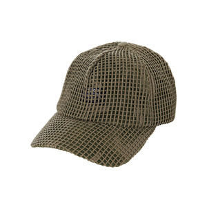 Mesh cover point ballcap khaki