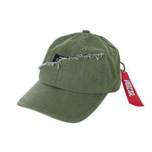 Military type-2 damage ballcap khaki