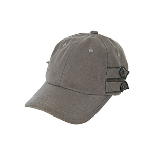 Button point oxpord ballcap khaki바잘[트랜드]